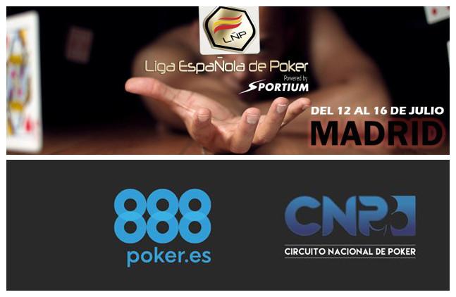 Circuito Cnp : 888 y sportium toman posiciones de cara a los circuitos de poker que