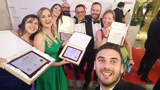 NetRefer, distinguida en los premios European Business Awards