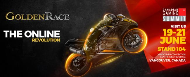 Golden Race exhibirá sus productos en el Canada Gaming Summit