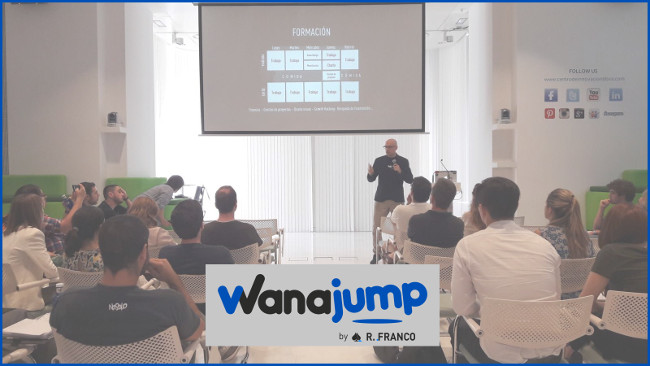 "Wanajump -un modelo en innovación- presente en la conferencia ""Innovation for glory"" del BBVA"
