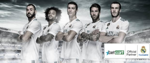 Betcart, nuevo patrocinador del Real Madrid