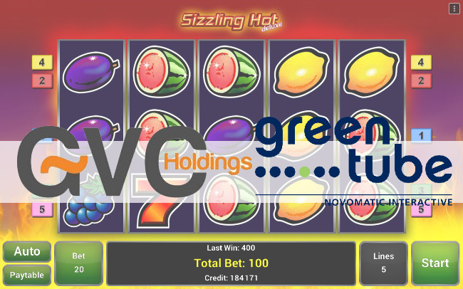 GVC Holdings incluye las Slots de Greentube (Novomatic)
