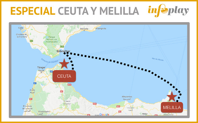 Ceuta Y Melilla Mapa.Tienen Ceuta Y Melilla Posibilidades Reales De Convertirse