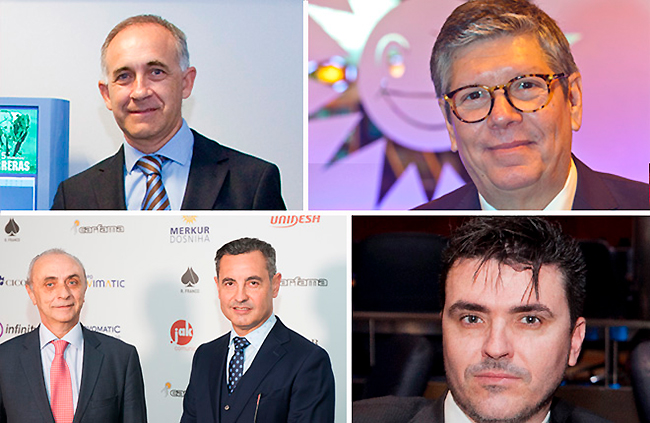 Carlos Chacón premio EXPOJOC 2018 a la trayectoria profesional