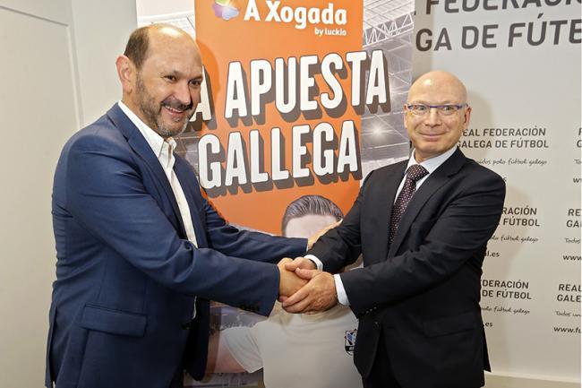 e1c553fc861bc Luckia Apuestas y la Real Federación Gallega de Fútbol lanzan la marca  gallega de Apuestas Deportivas