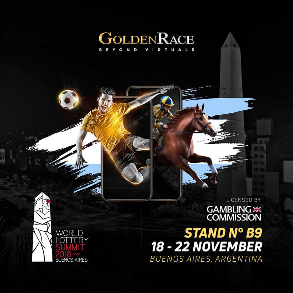 Golden Race, preparado para arrasar en el World Lottery Summit 2018