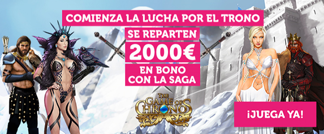 WANABET lanza el torneo THE GAME OF CHRONOS