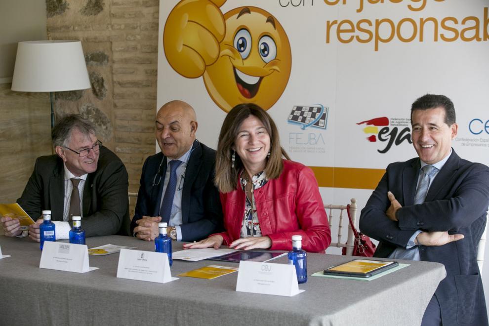 """4862bf3c4 Susana Pastor  """"Felicito a CEJ y FEJBA  Haced el juego en un entorno  entretenido y seguro"""""""