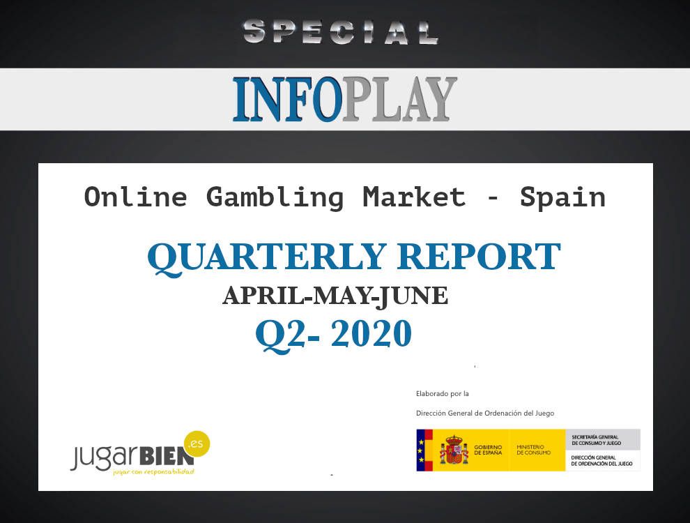 The official data of the spanish online gambling market in Q2 shows the ineffectiveness of the restrictive advertising measures