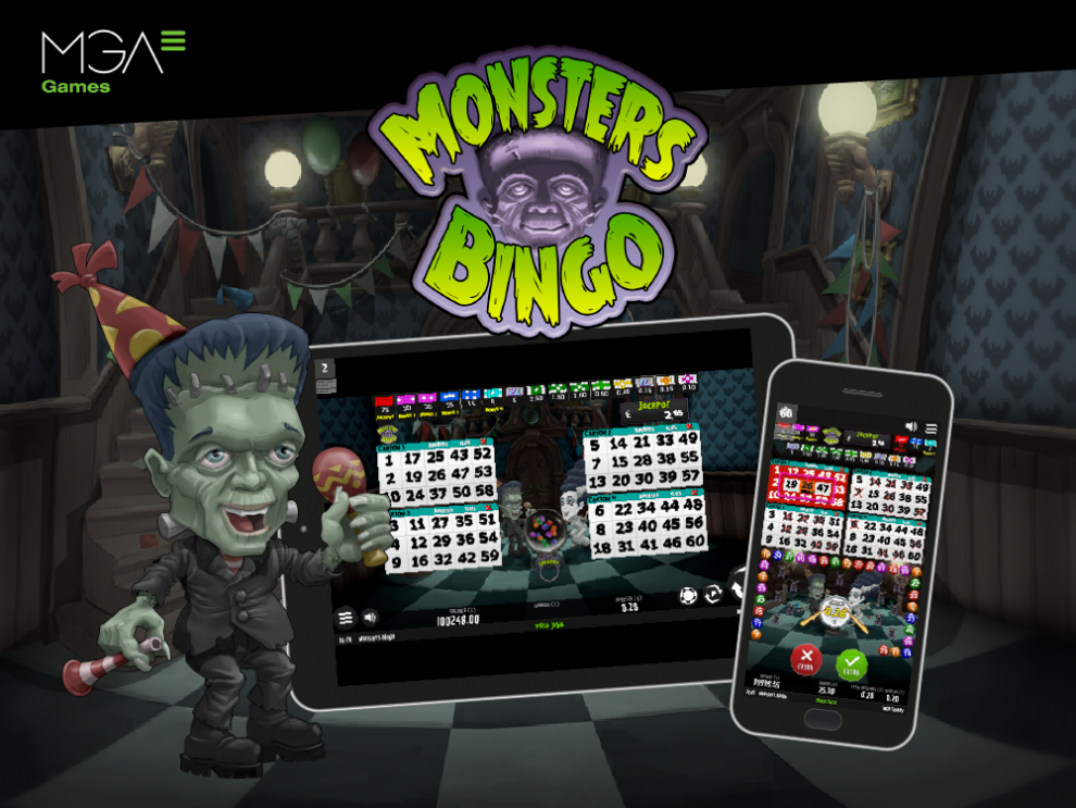 MGA Games presents a new version of Monsters Bingo, the most terrifying of its collection (video)