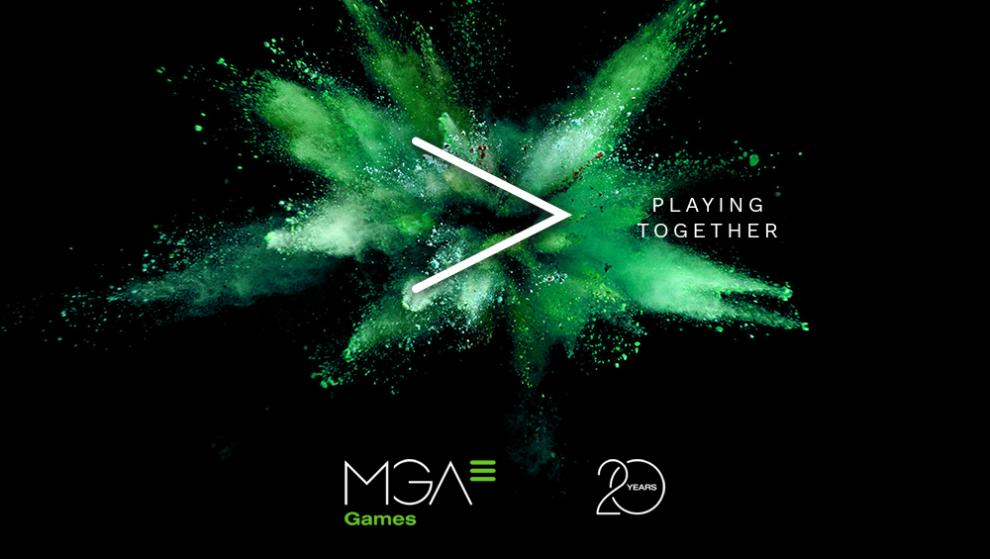 MGA Games celebrates its 20th anniversary with the motto Playing Together