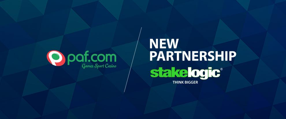 Stakelogic and Paf reach an important agreement for the distribution of a large portfolio of successful slots