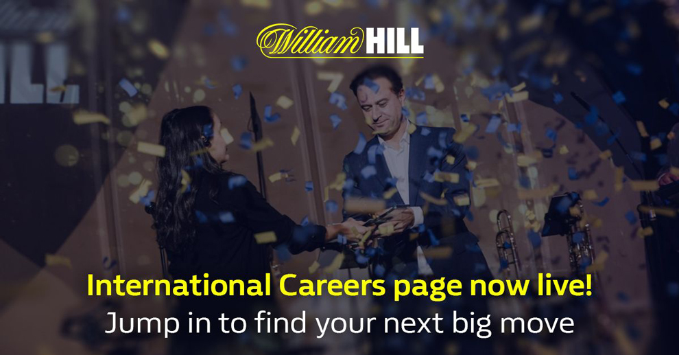 William Hill International presents its new exclusive website for its job offers