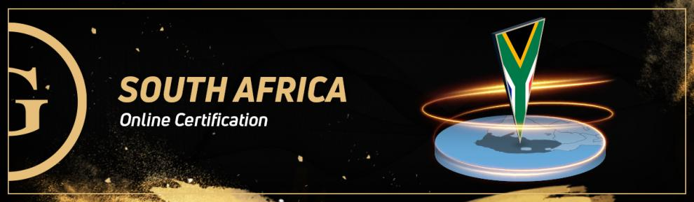 GoldenRace: Online certification in South Africa