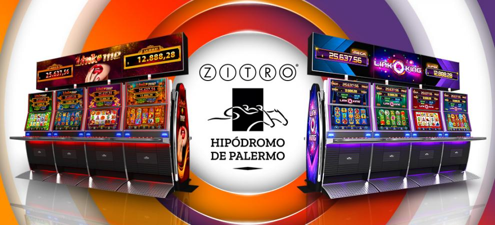 The CASINO HIPÓDROMO de PALERMO renews its enterntainment offer with ZITROS MULTIGAMES LINK KING and LINK ME